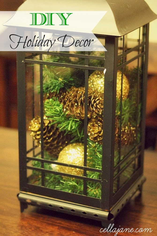 DIY Holiday Decor | Cella Jane