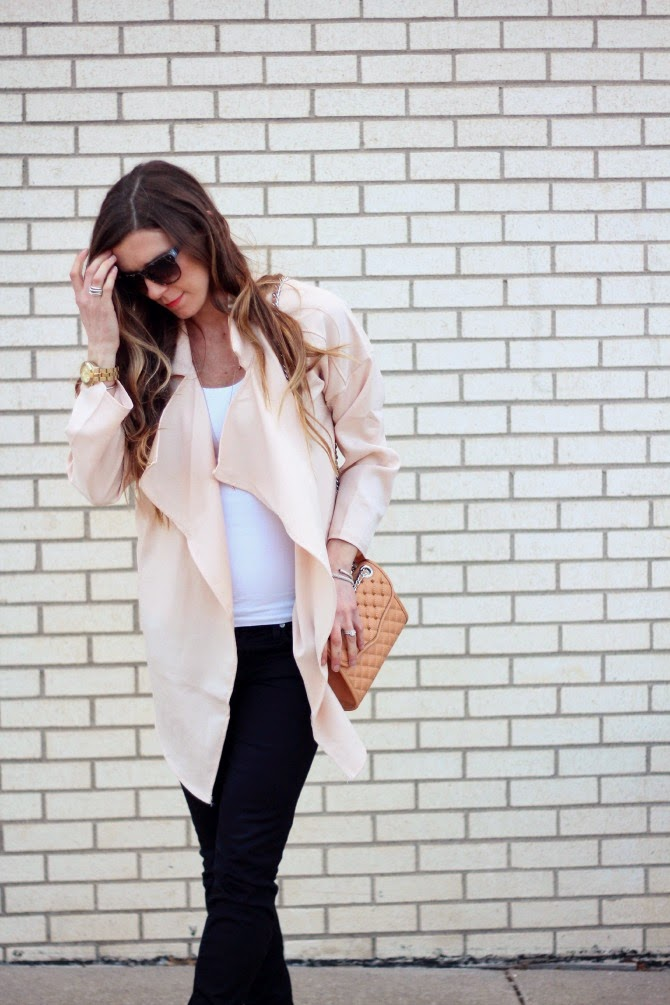 Nude Spring Color Trend Rebecca Minkoff Quilted Bag Fashion Blogger
