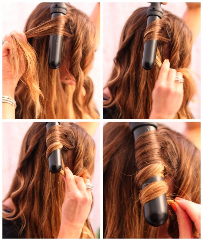How to use a curling wand cella jane how to use a curling wand urmus Images