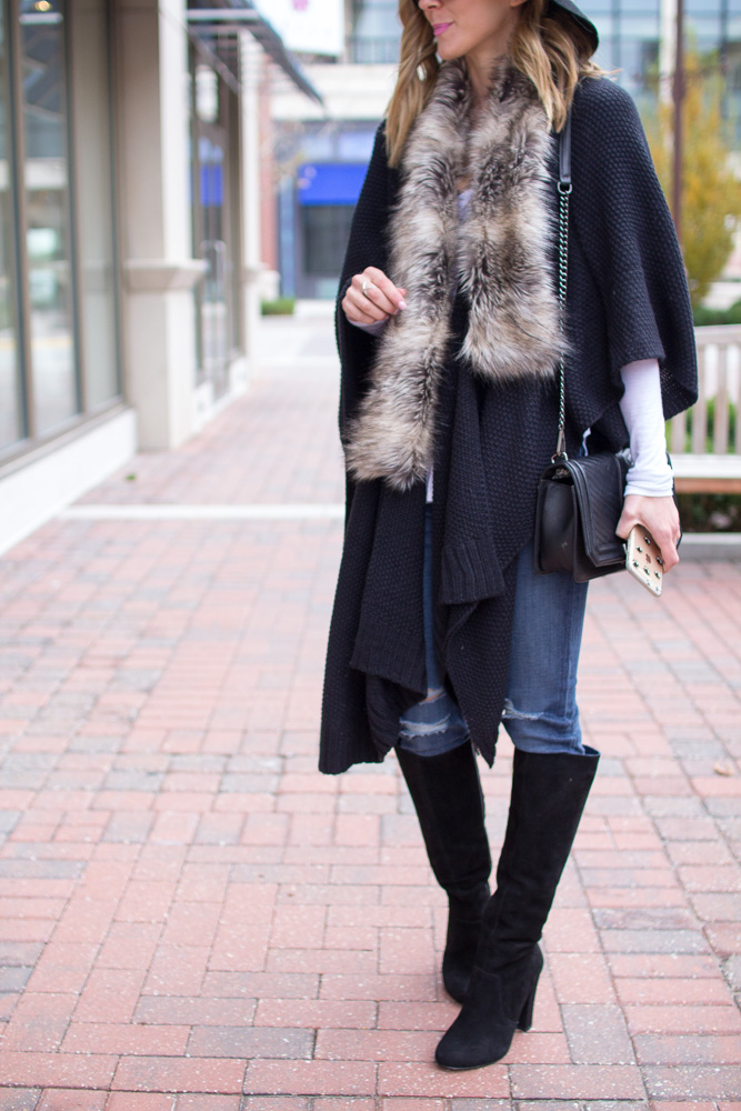 target sweater-poncho