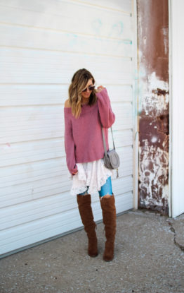How to Layer A Pullover Sweater
