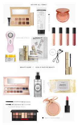 Beauty Must Haves: 50% off
