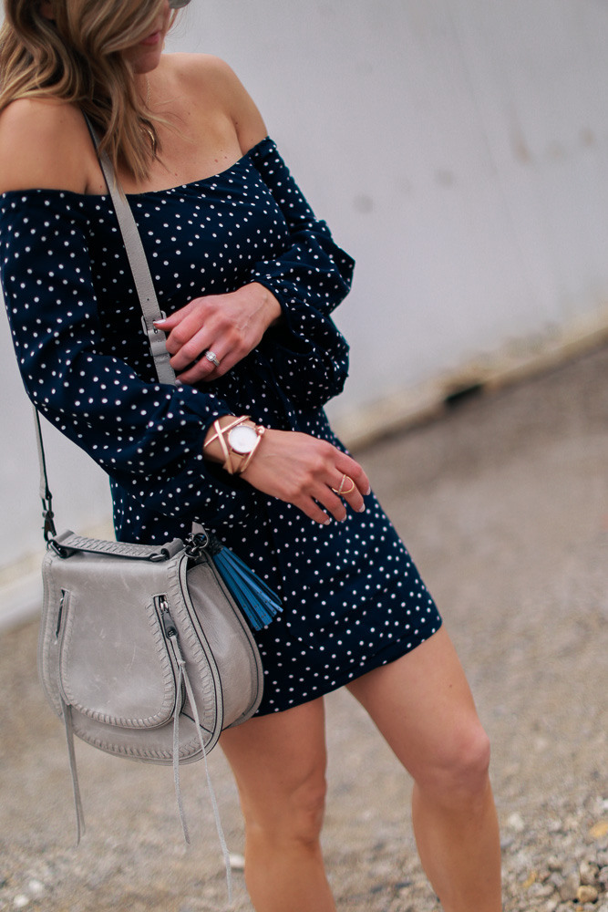 Rebecca Minkoff, crossbody bag, watch