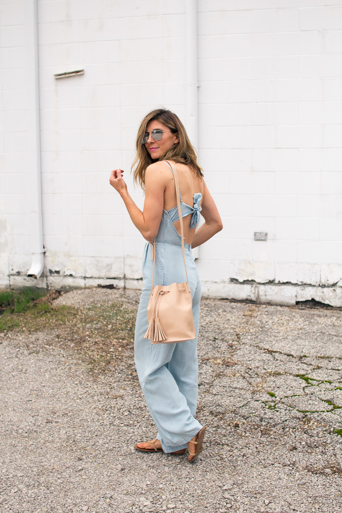 jumpsuit, mirrored, sunglasses