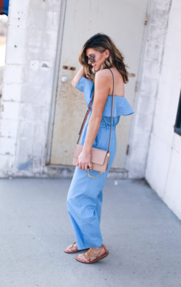 Chambray Jumpsuit + Weekend Deals