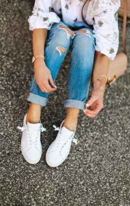 Why You Should Invest In A Pair of White Sneakers