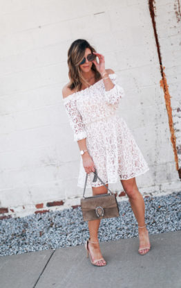 Lace Dress Styled Two Ways
