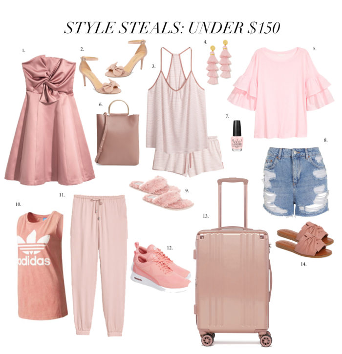 styles under $150, summer style, pink outfits, pink nikes, fashion blogger, style blogger, Kansas City blogger