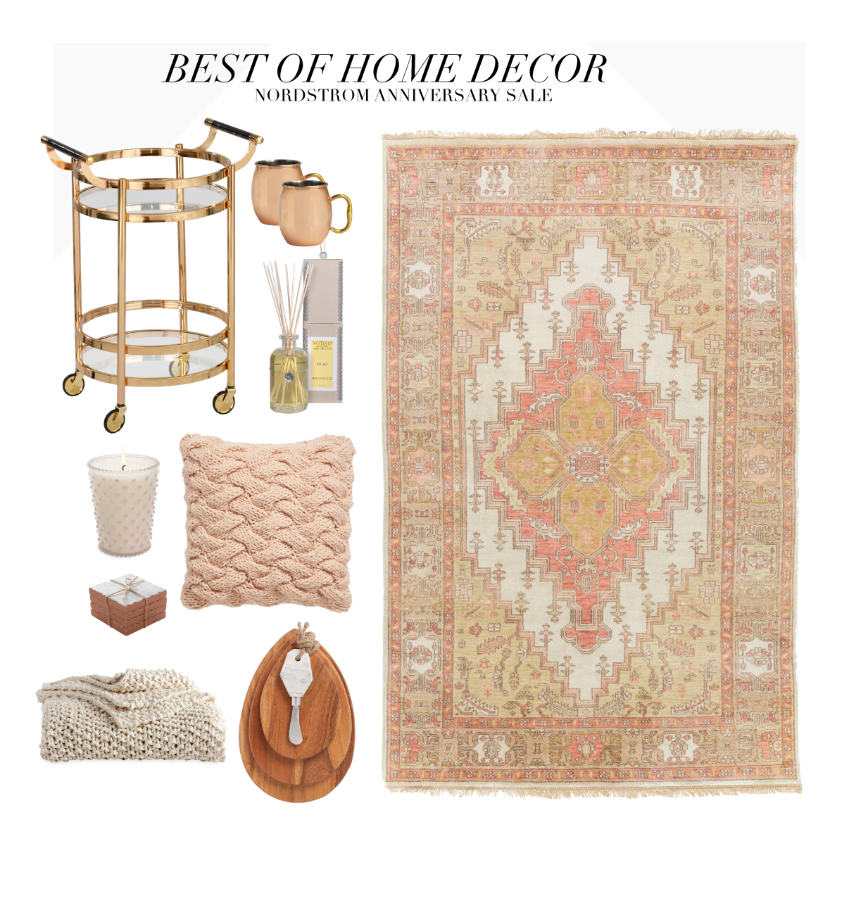 Favorite home decor from the nordstrom sale cella jane for Home decor items on sale