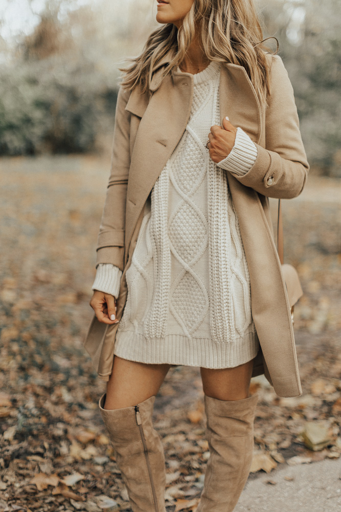 Classic Camel Coat for Fall