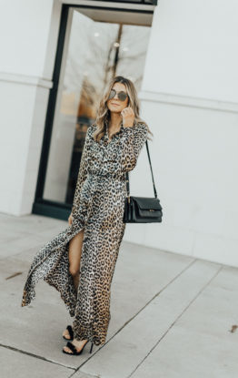Holiday Look: Leopard Dress