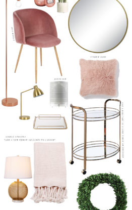Home Decor: AFFORDABLE UPDATES FOR SPRING