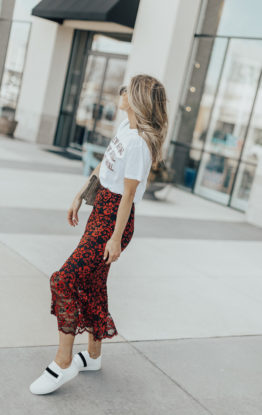 Lace Skirt Styled Two Ways