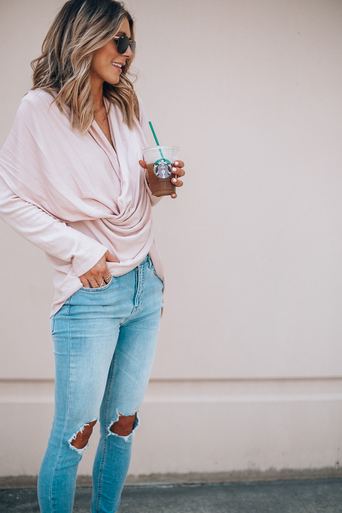 Nordstrom Anniversary Sale outfit ideas wrap cardigan