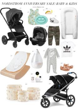 Nordstrom anniversary sale, baby gear, kids sale, maternity wear
