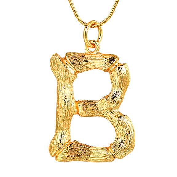 amazon gold layering initial necklace