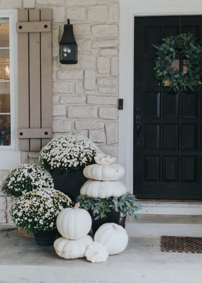 How To Decorate Your Home For Fall front porch