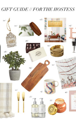 Gift Guide // 20 Unique and Affordable Hostess Gifts