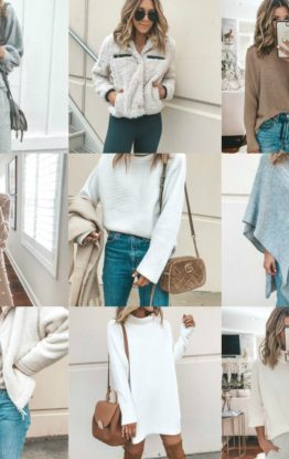 Instagram Round Up: 33 Cozy Fall Outfits