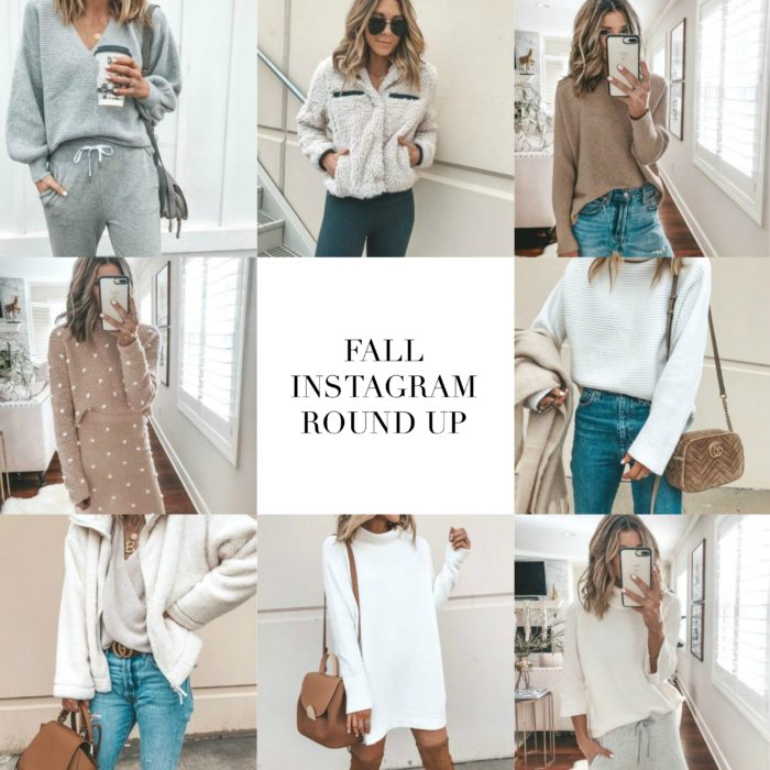 Cozy Fall Outfits Instagram Roundup