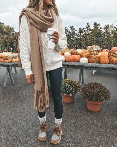 Urban Outfitters sweater cozy fall outfit