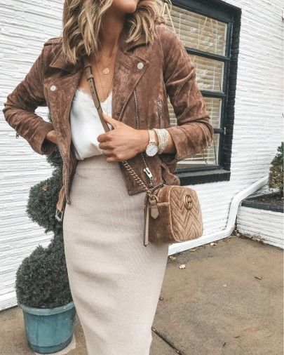 blank nyc moto jacket outfit