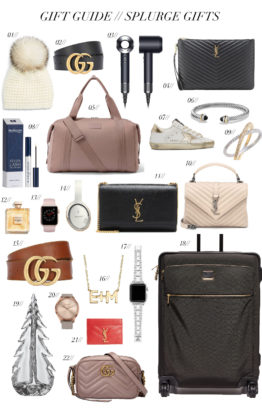 Gift Guide // Splurge Gifts
