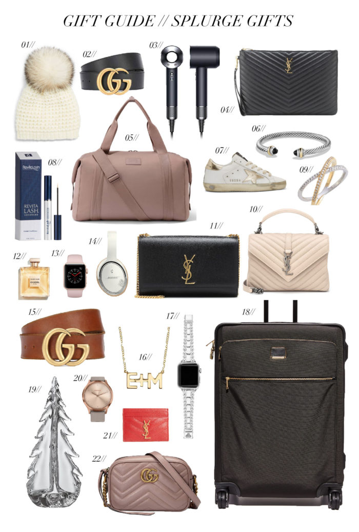 97ff785618 Gift Guide // Splurge Gifts | Cella Jane