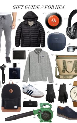 Gift Guide // Best Gifts For Him