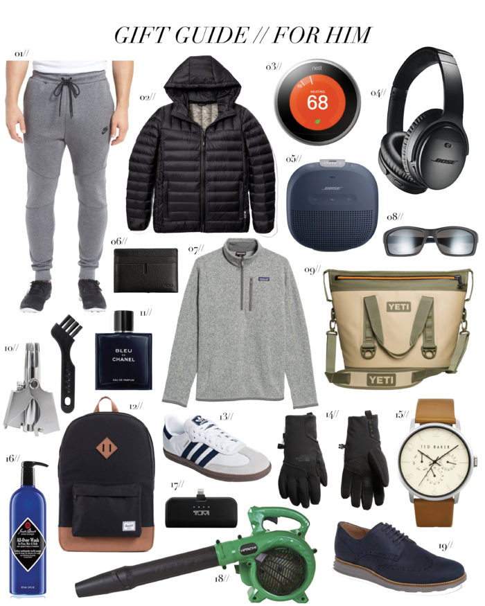 Gift Guide Best Gifts For Him Cella Jane