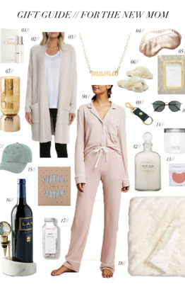 Gift Guide // For the New Mom