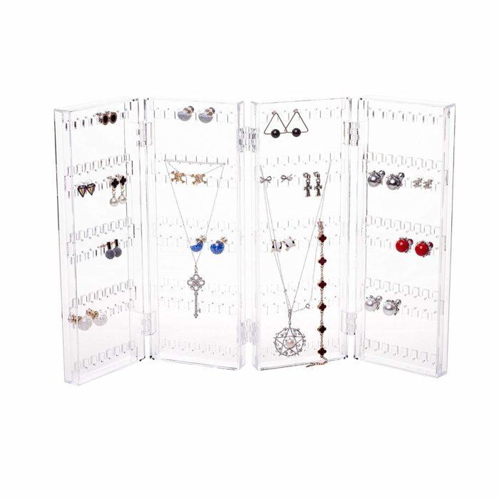 amazon foldable jewelry organizer