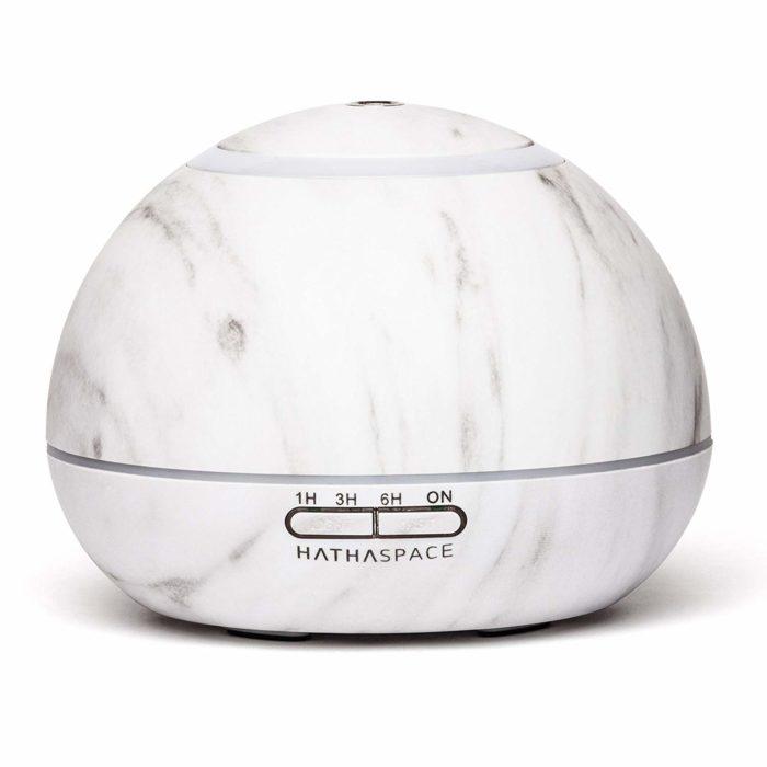 white marble essential oil diffuser