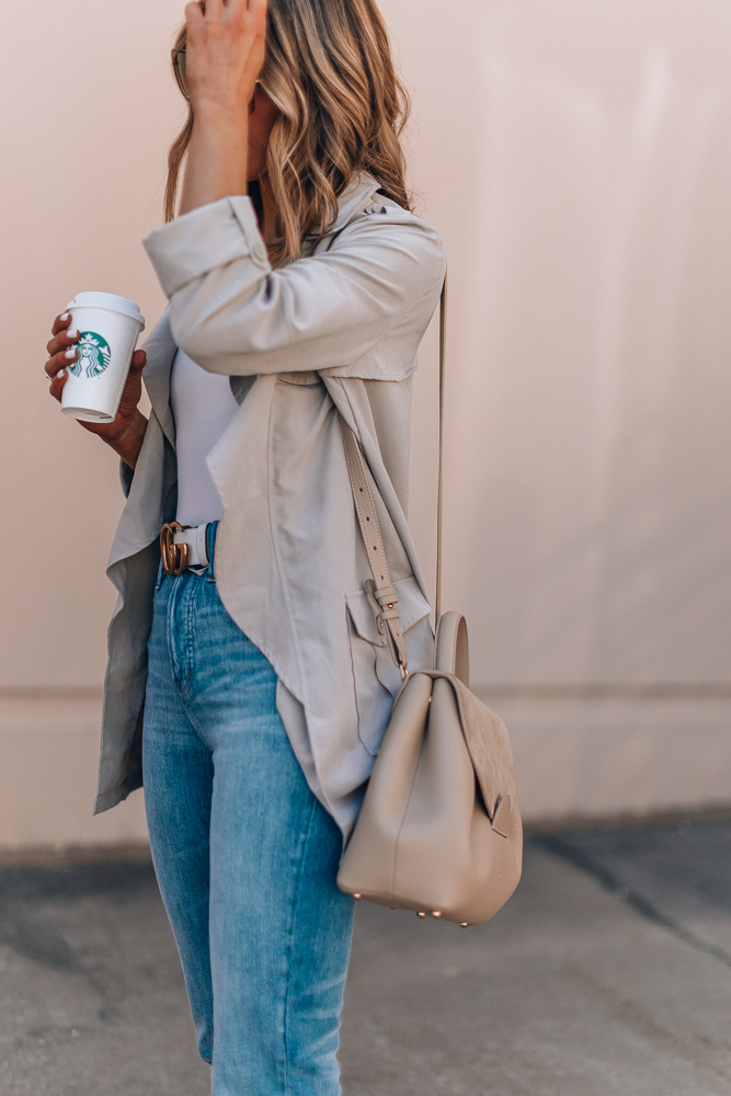 spring neutral outfit