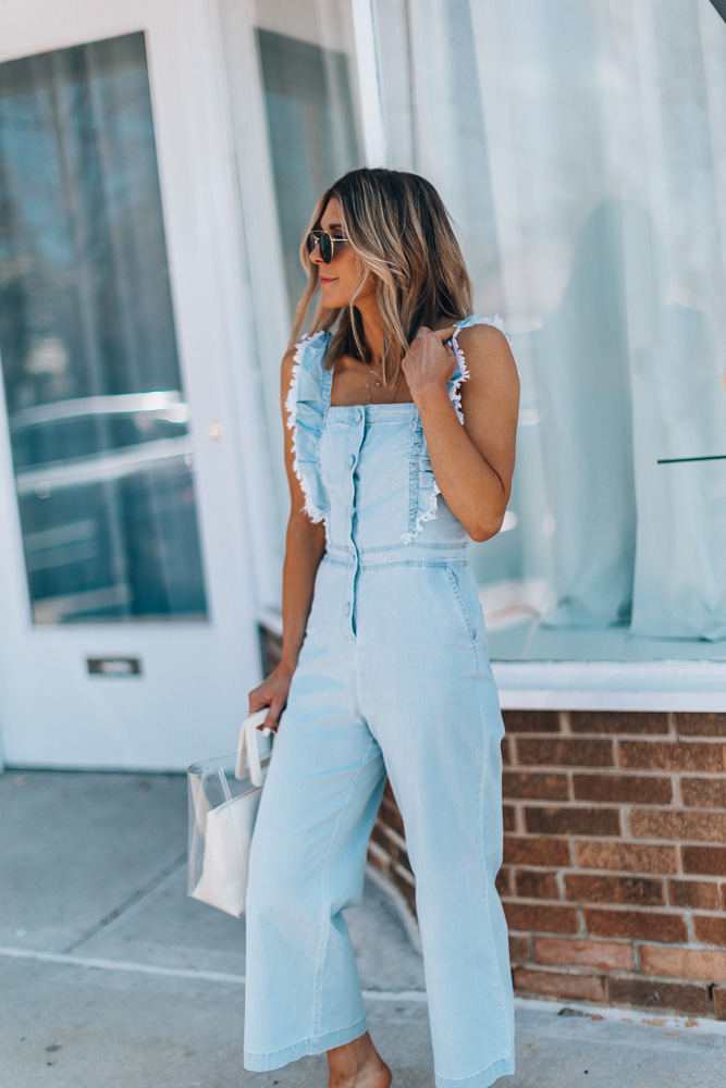 657f4150a892 Jumpsuits are a staple in my spring and summer wardrobe, so of course, I  have to share one of my favorites this season along with how I'm styling it.
