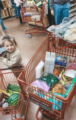 Trader Joes Shopping List and 5 Easy Meals
