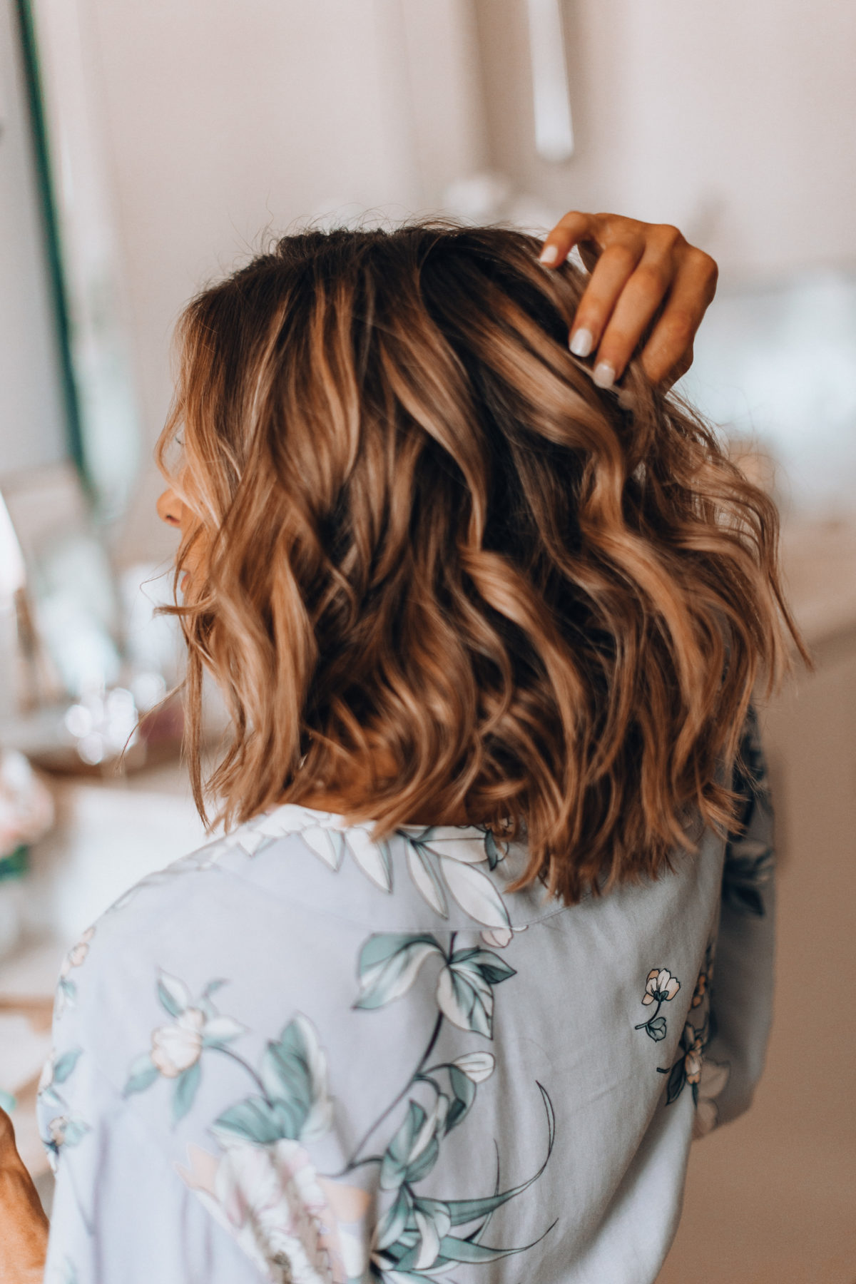 How I Get My Loose Waves Cella Jane