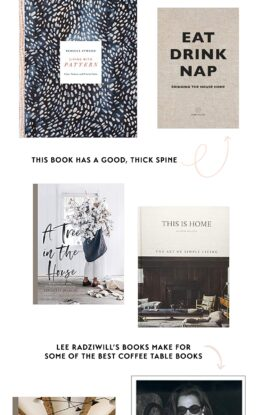 13 of the Best Coffee Table Books + Tips on how to Style Them