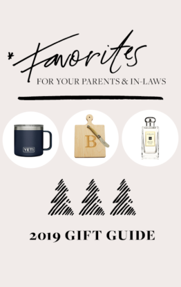 Gift Guide: For Your In-Laws & Parents