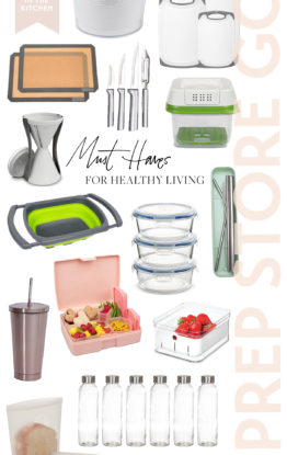 New Year Healthy Living/Kitchen Organization