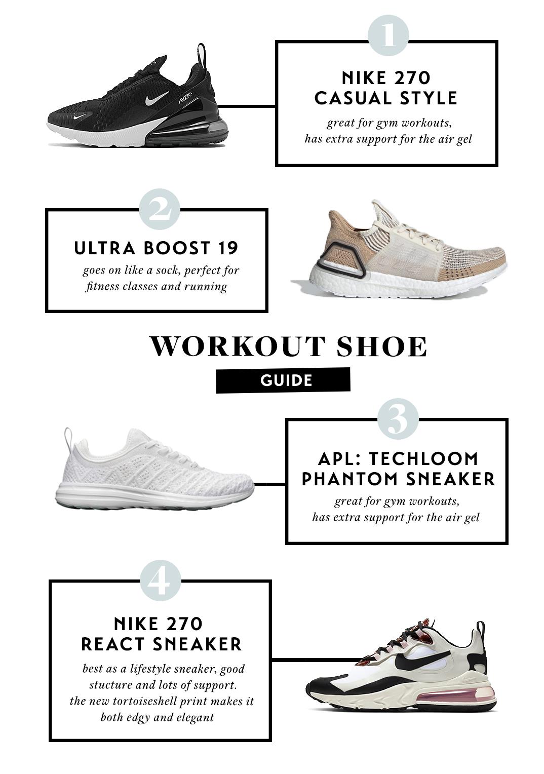 apl workout shoes