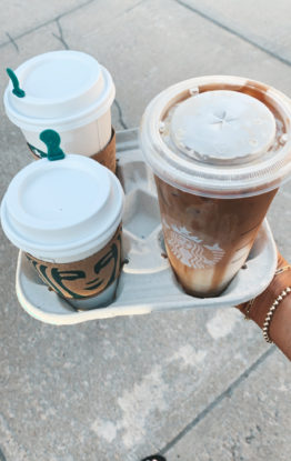 Healthier Summer Starbucks Drinks