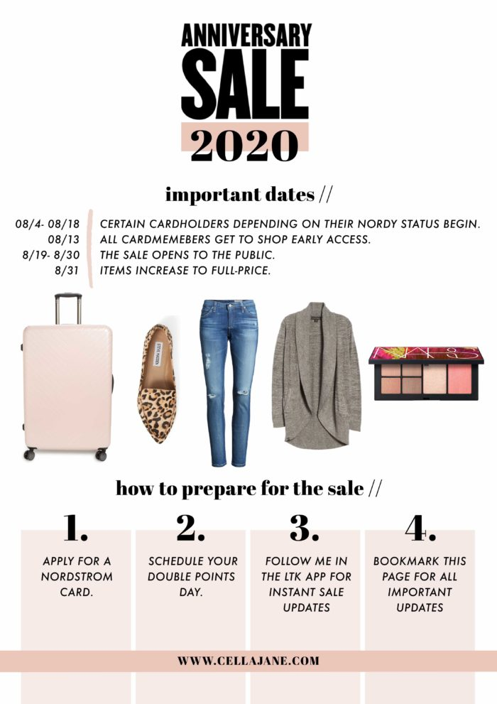 what to know when shopping the nordstrom anniversary sale