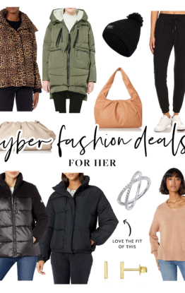 Amazon Cyber Fashion Deals for the Whole Family